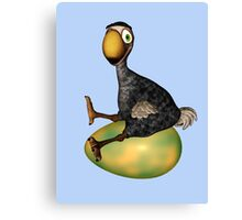 The Dodo .. gone but not forgotten Canvas Print