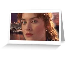 Kate Elizabeth Winslet was born in Reading, Berkshire, England Greeting Card
