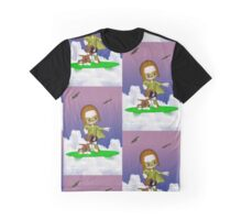 Up Up and Away .. the green avenger Graphic T-Shirt