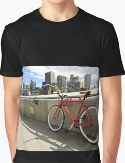 Bicycle Commute -Southbank Melbourne Australia Graphic T-Shirt