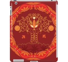 Abstract tree of life iPad Case/Skin