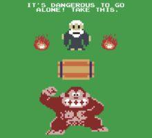 Donkey Kong Zelda Kids Tee