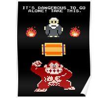 Donkey Kong Zelda Poster