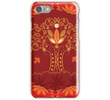 Abstract tree of life iPhone Case/Skin