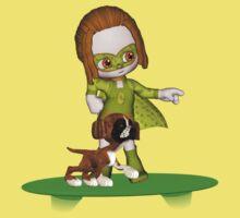 The Green Avenger Kids Tee