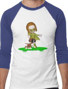 The Green Avenger Men's Baseball ¾ T-Shirt