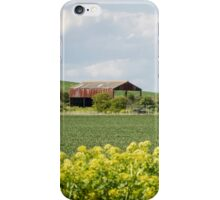 Barn in the Countryside iPhone Case/Skin