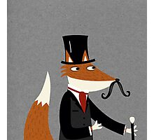 Sir Fox Photographic Print