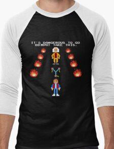 Back To The Zelda Men's Baseball ¾ T-Shirt