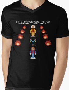 Back To The Zelda Mens V-Neck T-Shirt