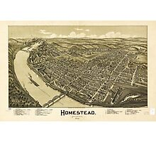 Homestead Pennsylvania (1902) Photographic Print
