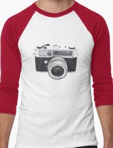 Vintage Camera Yashica Men's Baseball ¾ T-Shirt