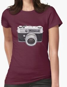 Vintage Camera Yashica Womens Fitted T-Shirt