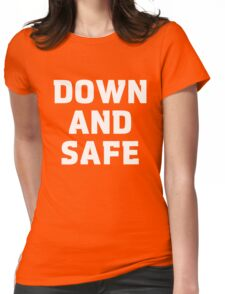 Blake's 7 - Down and Safe quote  Womens Fitted T-Shirt