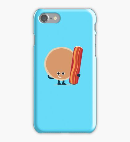 Character Building - Pancake & Bacon iPhone Case/Skin