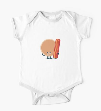 Character Building - Pancake & Bacon Kids Clothes