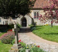 Detling Church, Kent, UK Sticker
