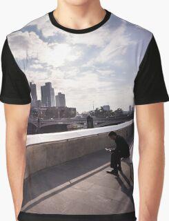 Cubicle lament - Southbank Melbourne Graphic T-Shirt