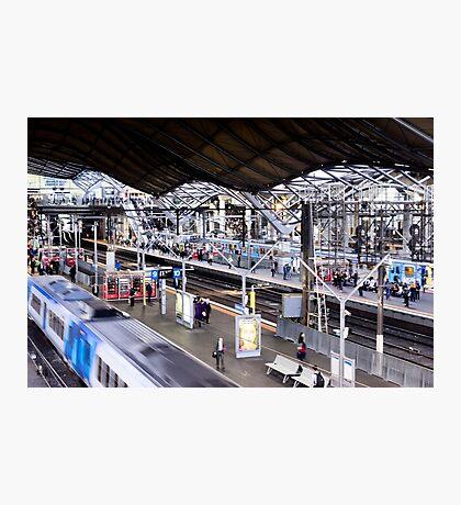 Platform 9 and three quarters - Melbourne Australia Photographic Print