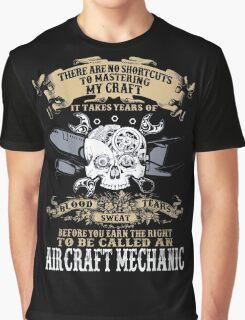 Aircraft Mechanic Graphic T-Shirt