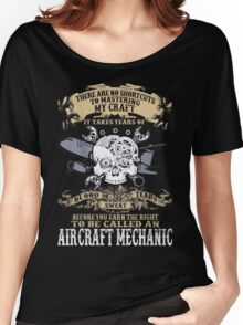 Aircraft Mechanic Women's Relaxed Fit T-Shirt