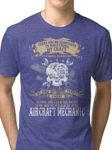 Aircraft Mechanic Tri-blend T-Shirt