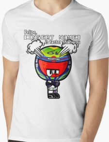 MiniDrivers - Felipe is faster than you Mens V-Neck T-Shirt