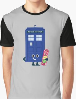 Character Building - Time boarder Graphic T-Shirt