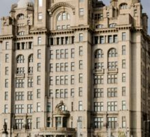 Royal Liver Building, Liverpool Sticker