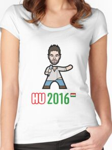 Hungary 2016 Women's Fitted Scoop T-Shirt