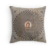 Medusa Mosaic Throw Pillow