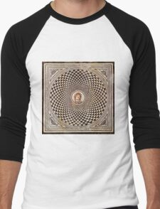 Medusa Mosaic Men's Baseball ¾ T-Shirt