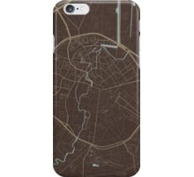 Leuven Map (Autumn II) iPhone Case/Skin