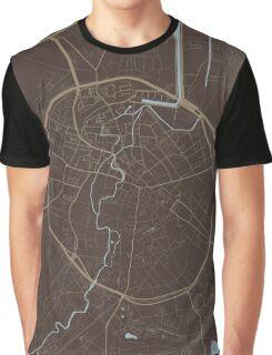 Leuven Map (Autumn II) Graphic T-Shirt