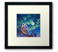 Aurora Owl Framed Print
