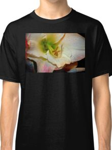 Amaryllis Close-up. Classic T-Shirt