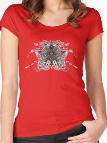 Aero Inkblot Women's Fitted Scoop T-Shirt