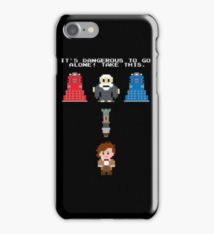 Doctor Who Meets Zelda iPhone Case/Skin