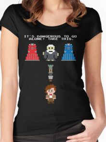 Doctor Who Meets Zelda Women's Fitted Scoop T-Shirt