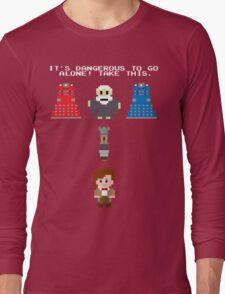 Doctor Who Meets Zelda Long Sleeve T-Shirt