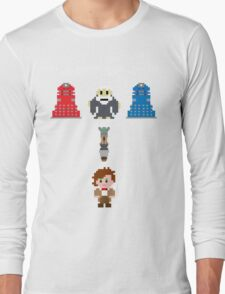 Doctor Who Meets Zelda Long Sleeve T-Shirt