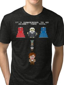 Doctor Who Meets Zelda Tri-blend T-Shirt