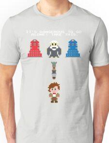 Doctor Who Meets Zelda Unisex T-Shirt