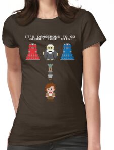 Doctor Who Meets Zelda Womens Fitted T-Shirt