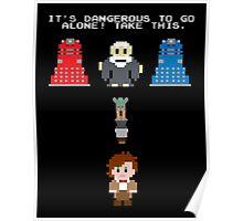 Doctor Who Meets Zelda Poster