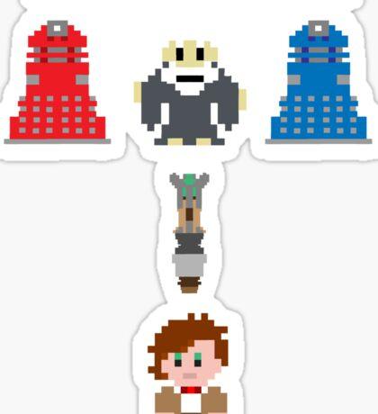 Doctor Who Meets Zelda Sticker