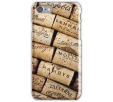 Wine Corks 1 iPhone Case/Skin
