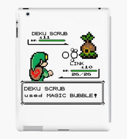 Zelda Pokemon Fight iPad Case/Skin