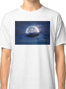 flying whale Classic T-Shirt