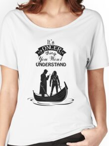 Captain Swan. Oncer Thing! Women's Relaxed Fit T-Shirt